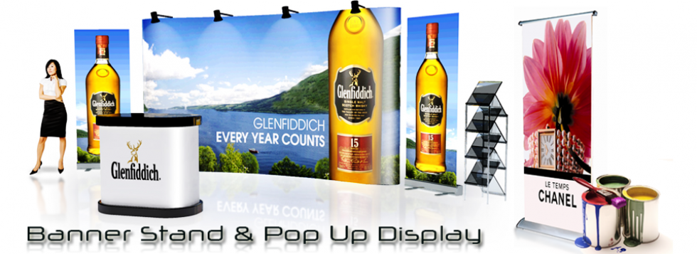 Banner Printing and Pop Up Display