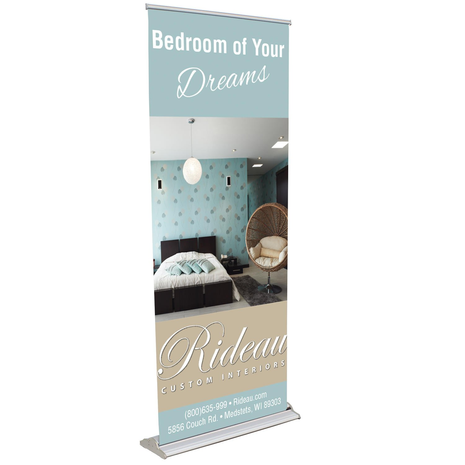 Luxury Retractable Banner Stand Signs Makers Large