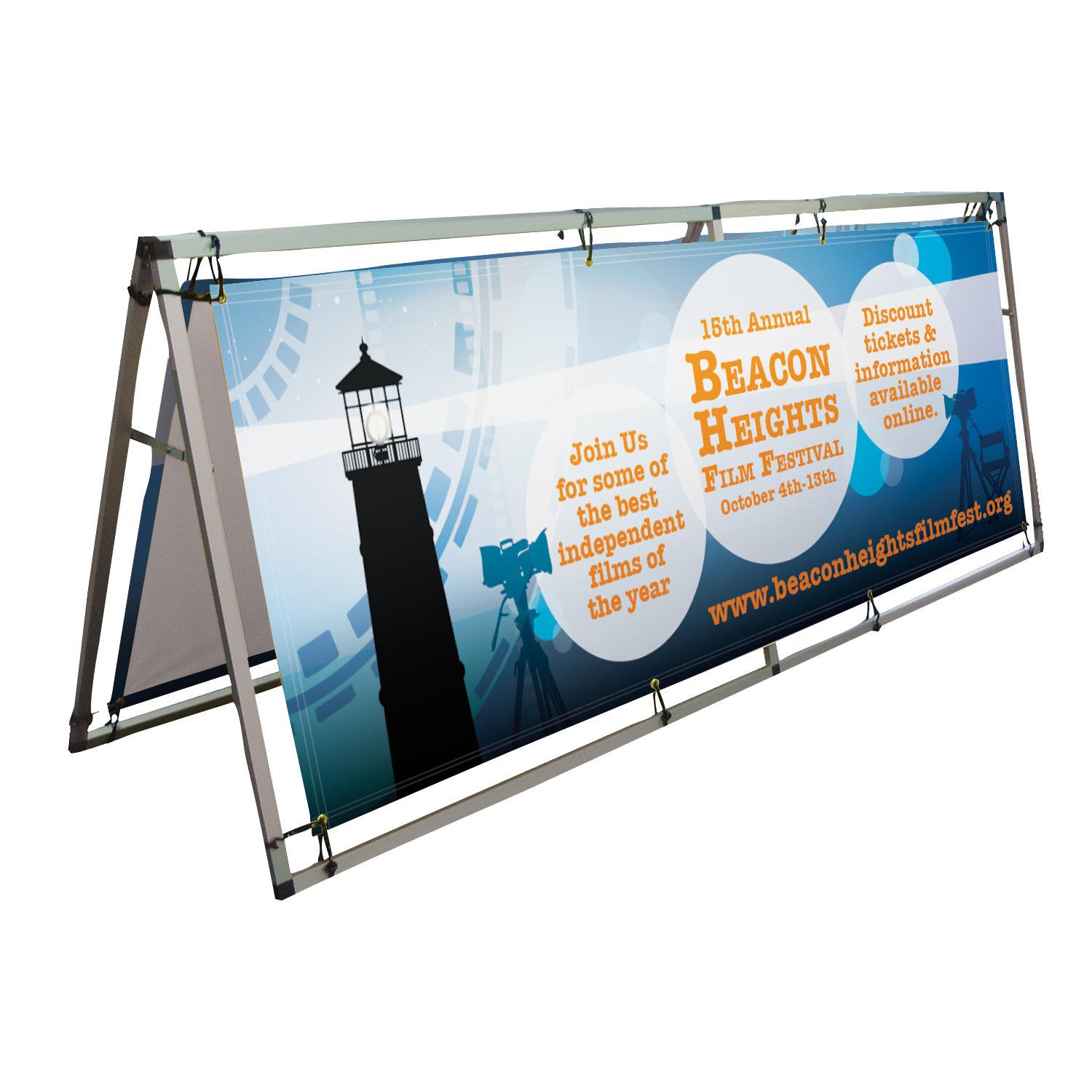 8 Horizontal A Frame Display Signs Makers Large