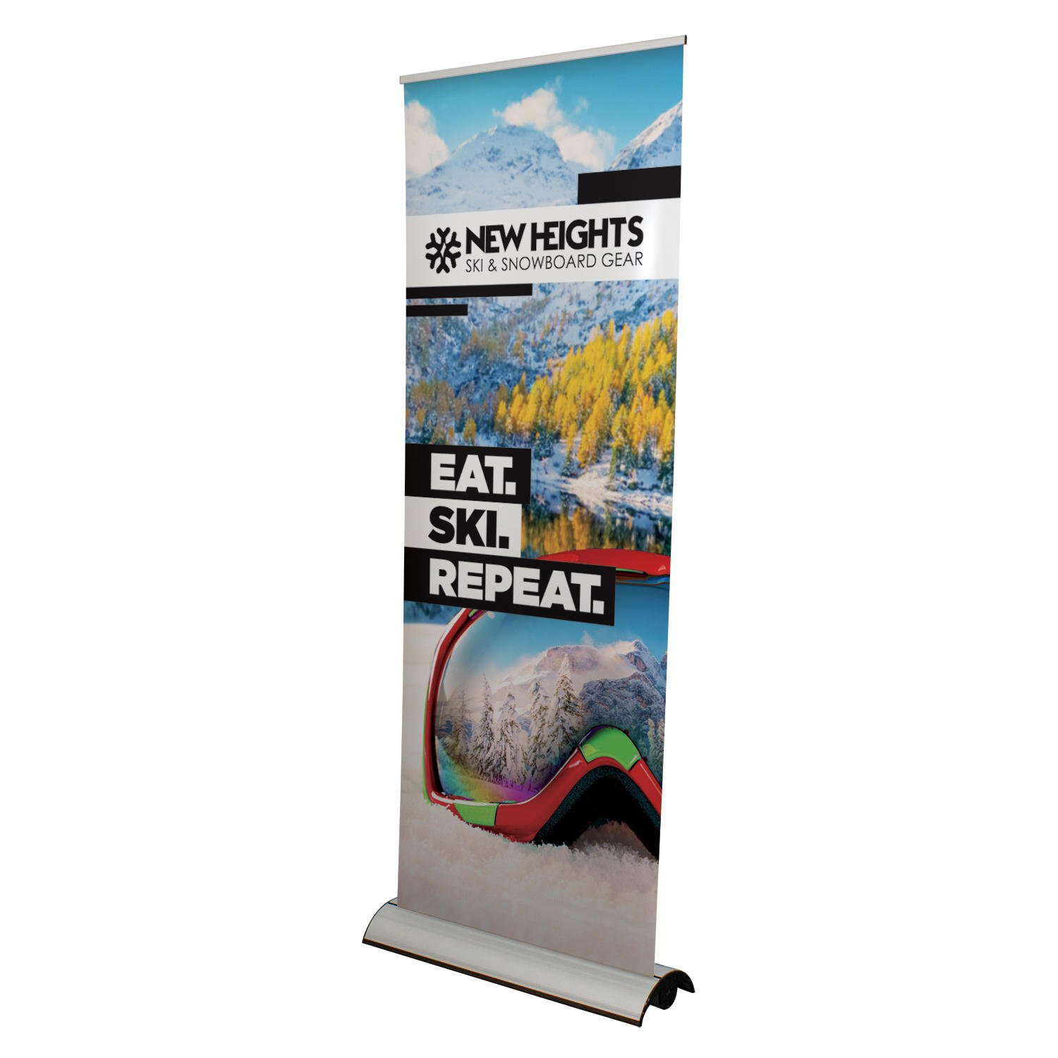 Supreme Retractable Banner Stand Signs Makers Large