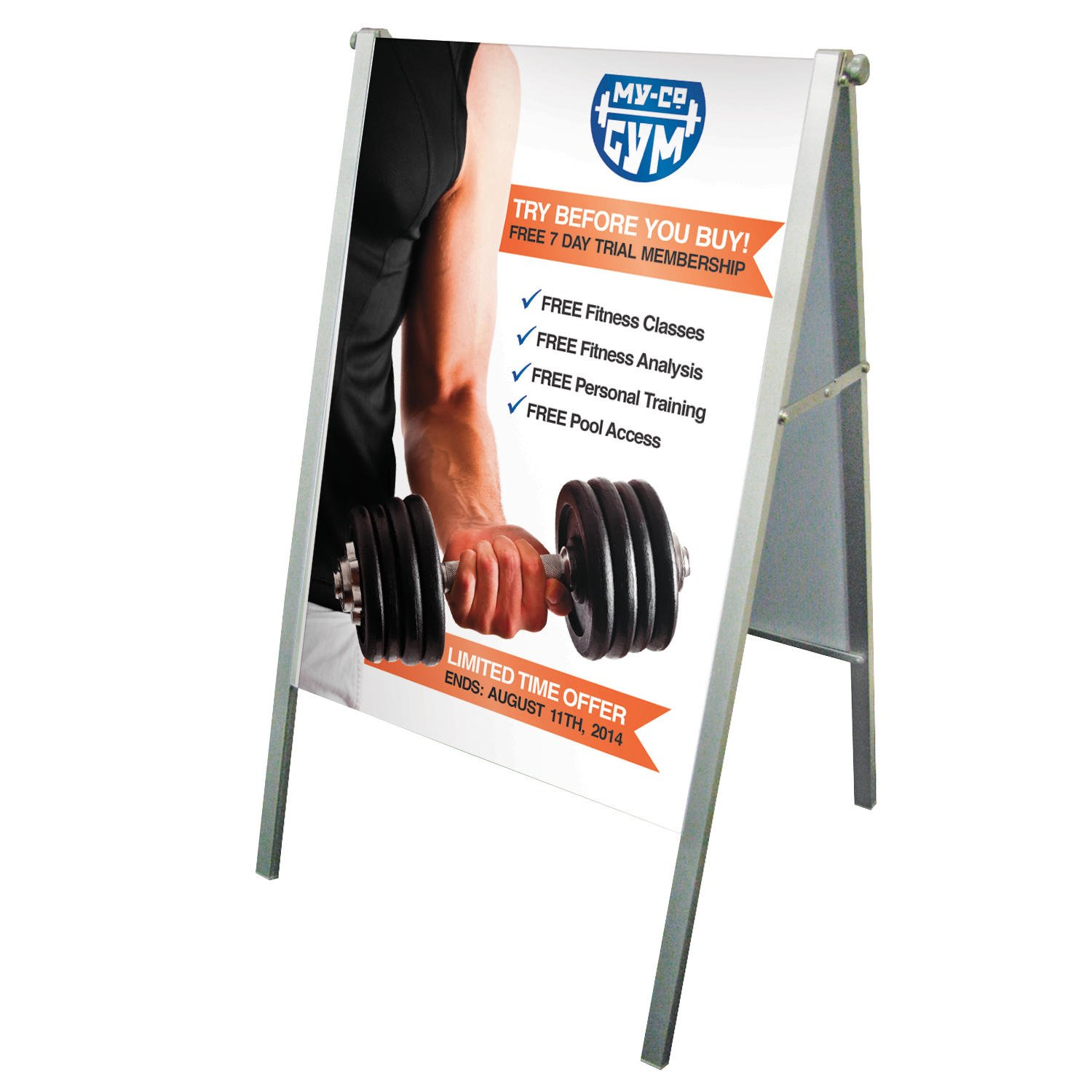 Fold Away Compact A Frame Signs Makers Large Format
