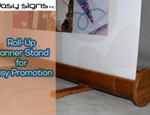 Roll-Up Banner Stand for Easy Promotion
