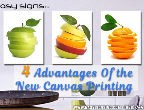 4 Advantages Of the New Canvas Printing Technology