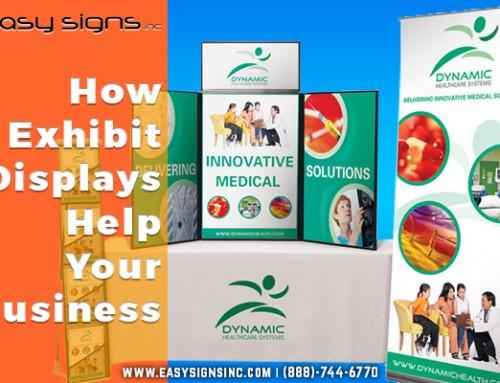 How Exhibit Displays Help Your Business