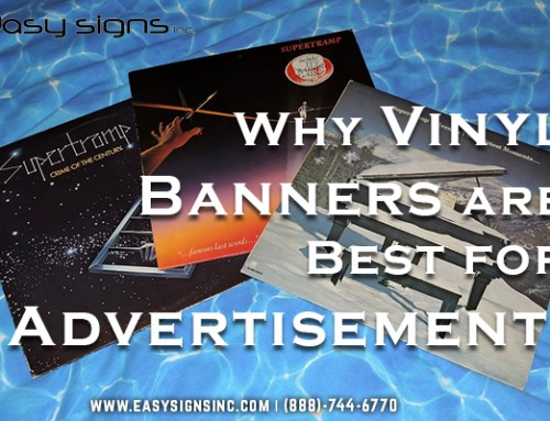 Why Vinyl Banners are Best for Advertisement