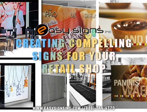Creating Compelling Signs for Your Retail Shop
