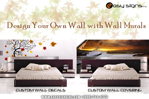 Design your own wall with wall murals for Design your own mural