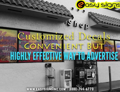 Customized Decals – Convenient But Highly Effective Way to Advertise