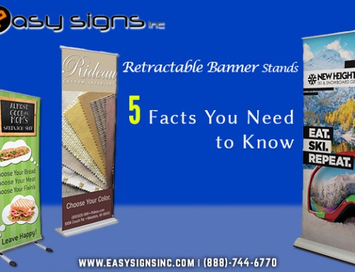 Retractable Banner Stands – 5 Facts You Need to Know