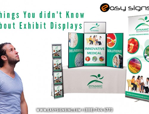 Things You didn't Know about Exhibit Displays
