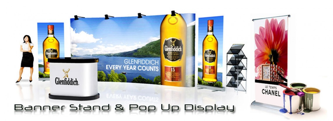 Banner Stand Pop Up Displays