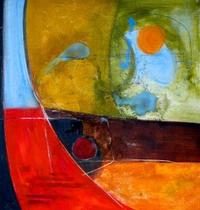 Ingrid Lindfors Abstract Paintings 4