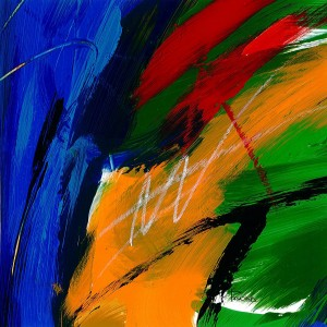 Randa Yordi Abstract Paintings 3
